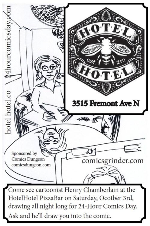 Henry Chamberlain-Hotel-Hotel-24-Hour-Comics