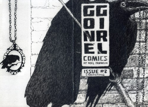 GONE GIRL COMICS #2 by Noel Franklin