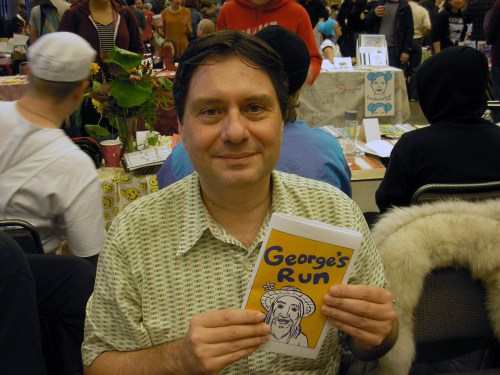Here I am debuting George's Run at Short Run!
