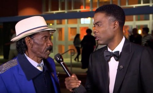 Chris Rock interviews Compton moviegoer