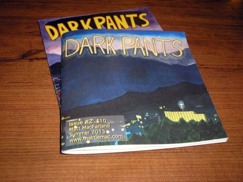 Issues 1 and 2 of DARK PANTS