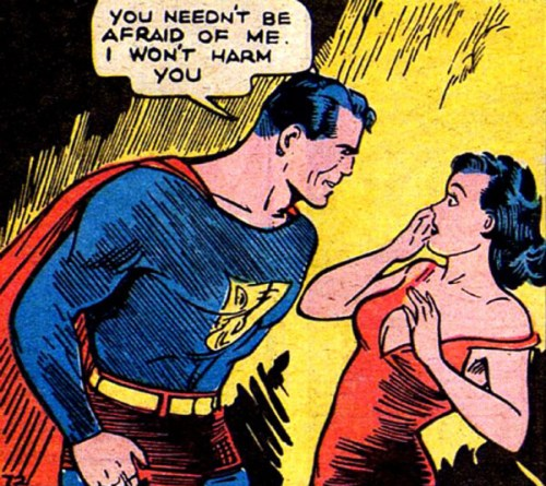 Superman and Lois Lane, circa 1938