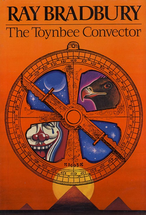 """""""The Toynbee Convector,"""" a short story by Ray Bradbury originally  published in Playboy magazine in 1984"""