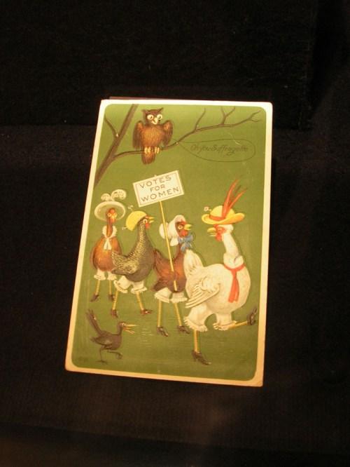 Vintage Women's Suffrage Placard