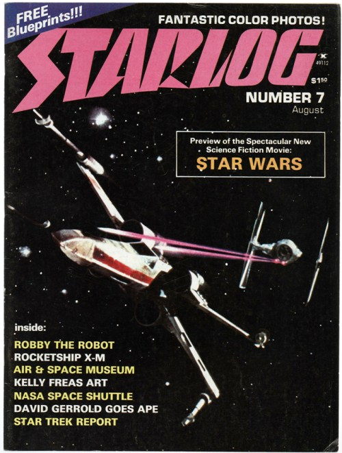 Starlog, Issue Seven, August 1977