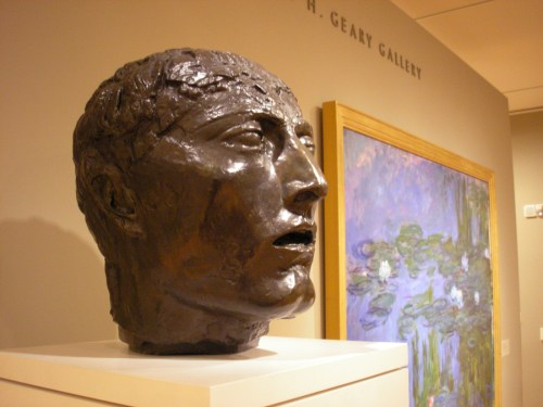 Bourdelle and Monet