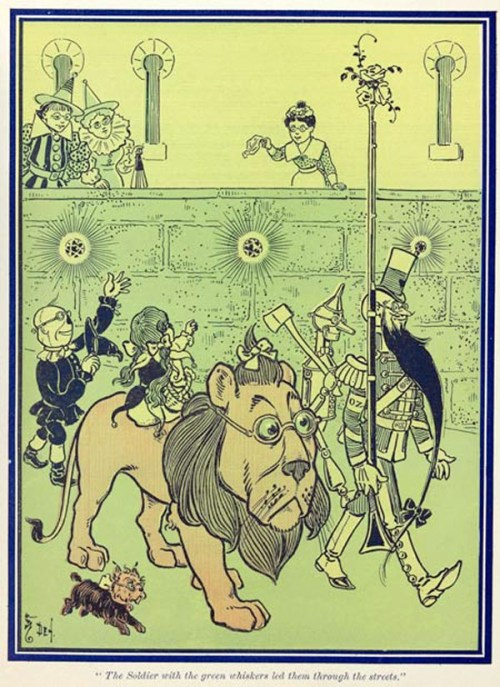 """The Wonderful Wizard of Oz,"" written by Frank L. Baum and illustrated by William Wallace Denslow"