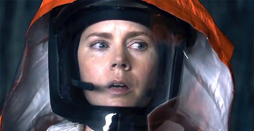 Amy Adams as Dr. Louise Banks