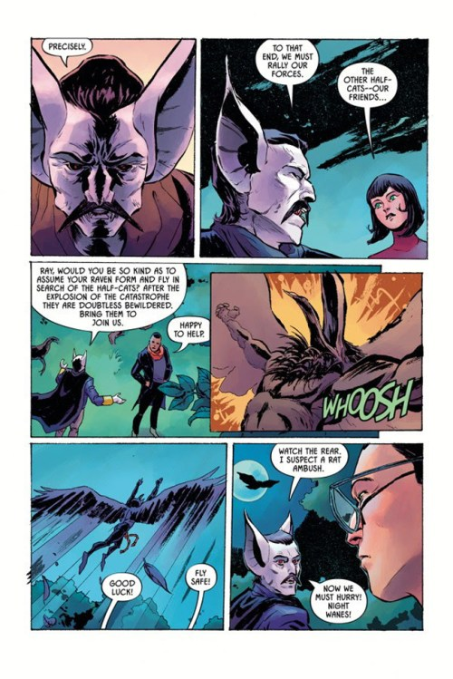 Page from ANGEL CATBIRD Volume 2