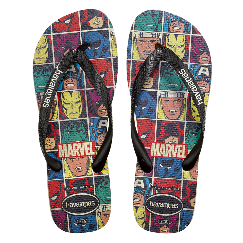 8d3970ef9 Havaianas Launches Marvel Comics Collection of Flip Flops | Comics ...