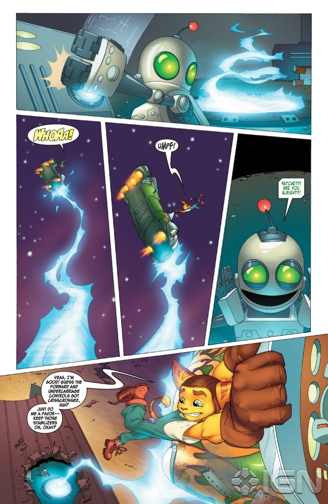 Ratchet Amp Clank Future Comic Discussion Thread FINAL COVER PAGE 19 Page 5