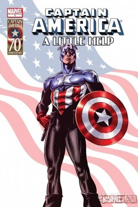 El Capitán América actual, antes conocido como Bucky