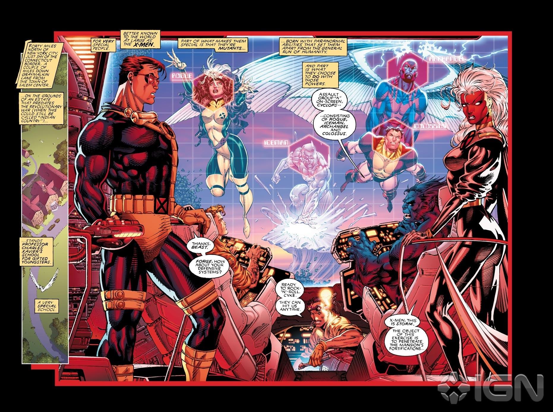 Imagen de X-Men #1 Vol. 2 Interior coresía de IGN