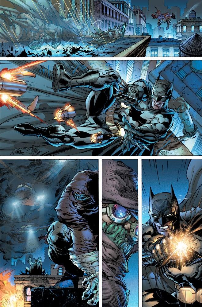 Imagen de Justice League #1 Page 4 cortesía de IGN