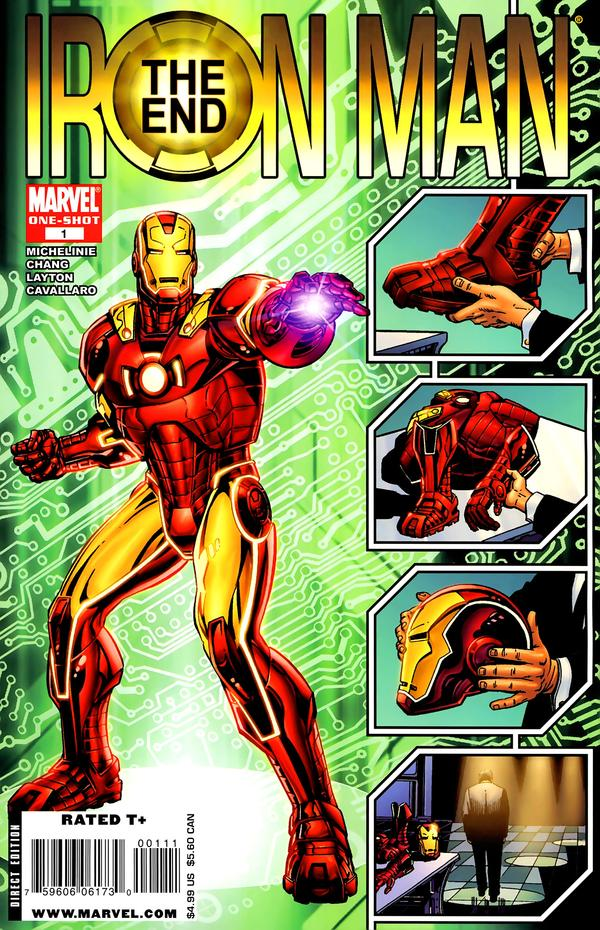 Iron Man The End Comics IGN