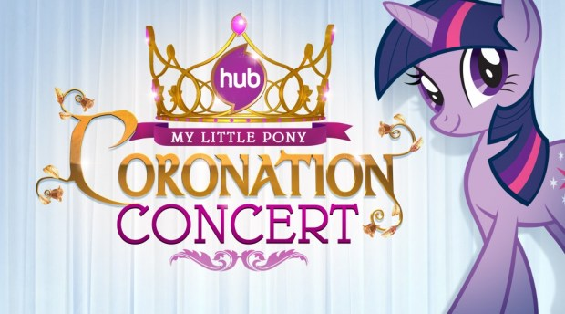 My Little Pony Coronation Concert Logo Keyart