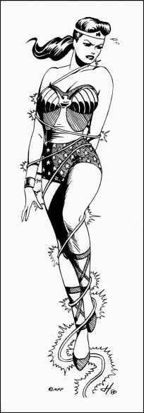 Связанная Чудо-женщина 1980г.