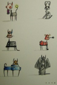 Here what some Dr. WHo characters would look like as cats. Thanks, Mr. Welbeck Kane (@400footghost)