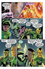 Green Lantern Corps #27 Preview 3 Art by Bernard Chang