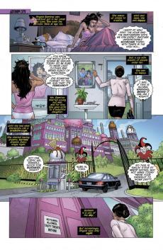 Batgirl #27 Preview 1 Art by Fernando Pasarin