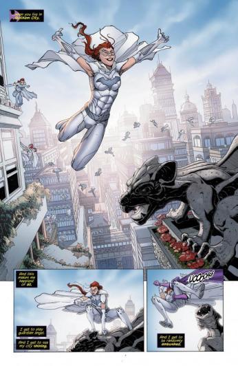 Batgirl #27 Preview 5 Art by Fernando Pasarin