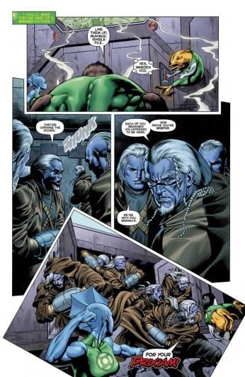 Green Lantern #27 Preview 6 Art By Dale Eaglesham