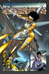 New Warriors #1 Preview 3 Art by Marcus To