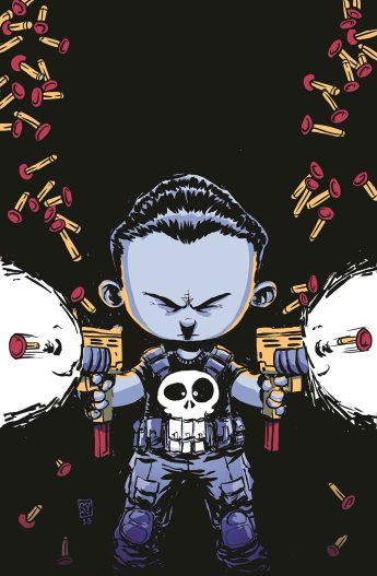 The Punisher #1 Young Variant By Skottie Young
