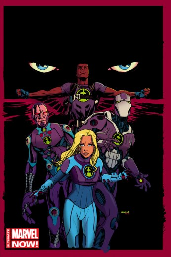 Ultimate FF #1 Cover by McKone