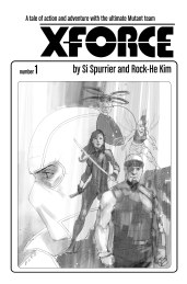 X-Force #1 Phil Noto Sketch Var Cover