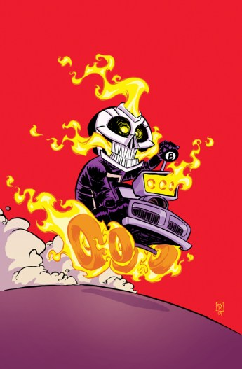 All-New Ghost Rider #1 Variant Cover by Skottie Moore