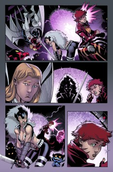 Amazing X-Men #5 Preview 2 Art by Ed McGuinness