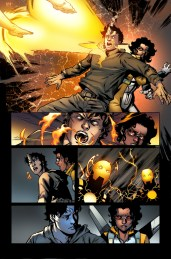 New Warriors #2 Preview 1 Art by Marcus To