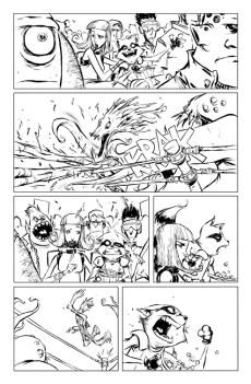 Rocket Raccoon #1 Preview 1 Art by Skottie Young
