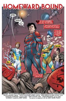 Superboy #29 Preview 2 Art by Mark Irwin/Andres Guinaldo