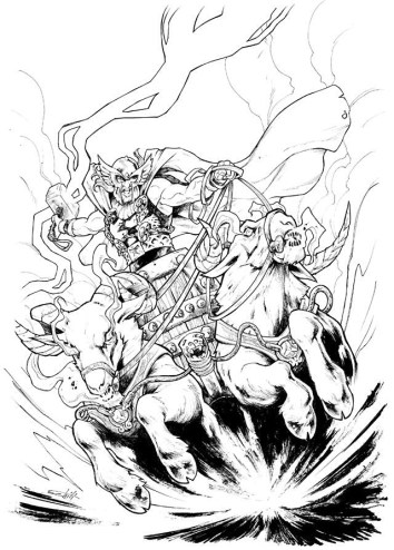 Thor God of Thunder Variant Cover