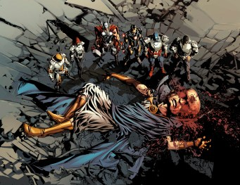 Original Sin #1 Preview 2 Art by Mike Deodato