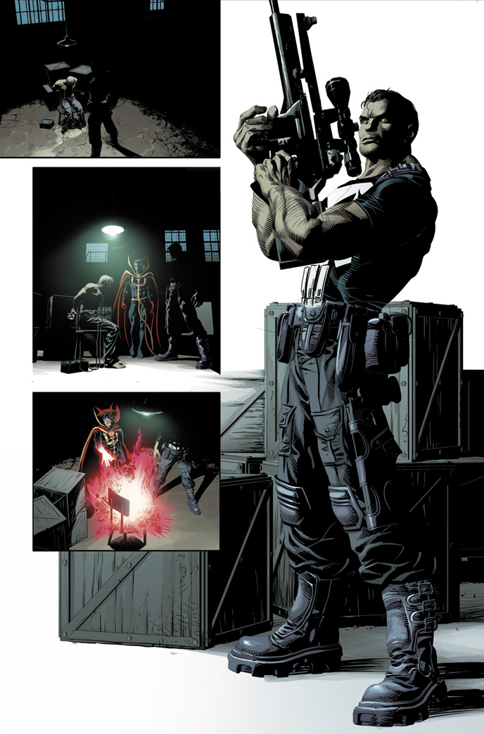 Original Sin #1 Preview 4 Art by Mike Deodato