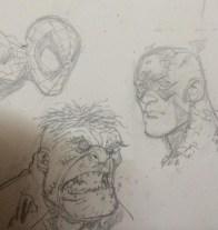 Spidey, Cap, and Hulk