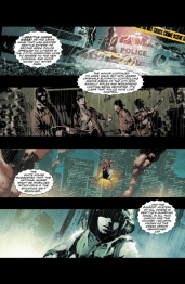 Green Arrow #32 Preview 1 Art by Andrea Sorrentino