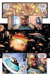 Green Lantern #32 Preview 3 Art by Rob Hunter/Billy Tan