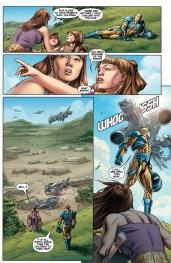 Armor Hunters #1 Preview 3 Art by Doug Braithwaite