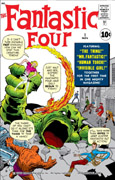 Fantastic Four 1 Stan Lee and Jack Kirby