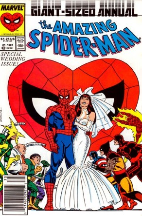 Spider Man Wedding