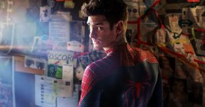 """The next on-screen Spidey may be """"much younger"""" than 31-year-old actor Andrew Garfield."""