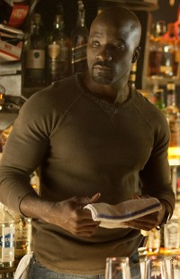 """""""Jessica Jones"""" introduces Mike Colter as Luke Cage, who will star in Marvel's next Netflix series."""