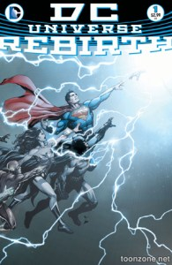 DC Rebirth Is Here