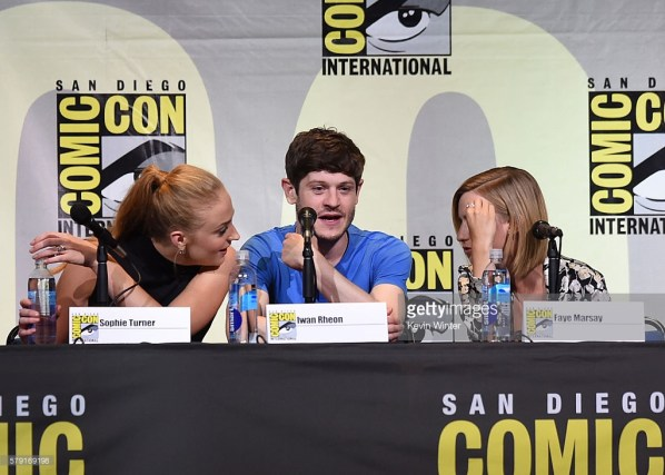 """""""Game Of Thrones"""" panel Getty Images"""