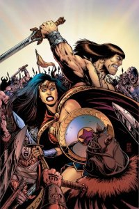 Wonder Woman and Conan