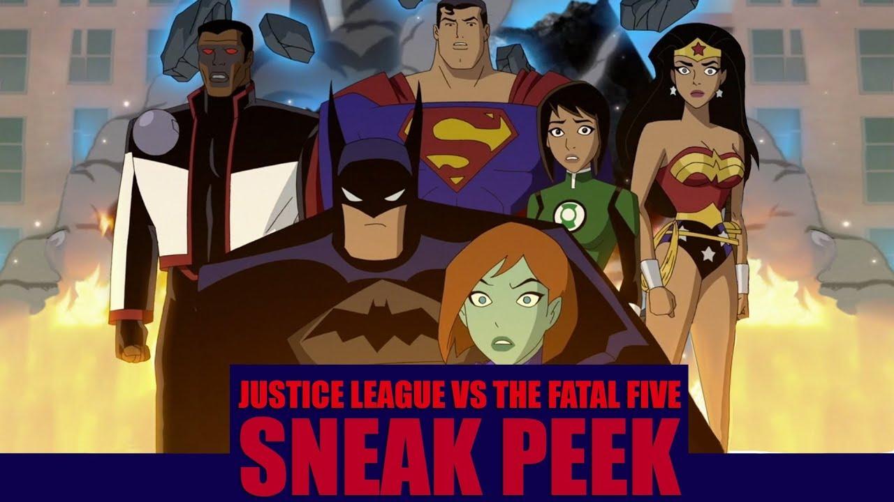 Justice League Vs The Fatal Five Sneak Peek Comics Talk News And Entertainment Blog